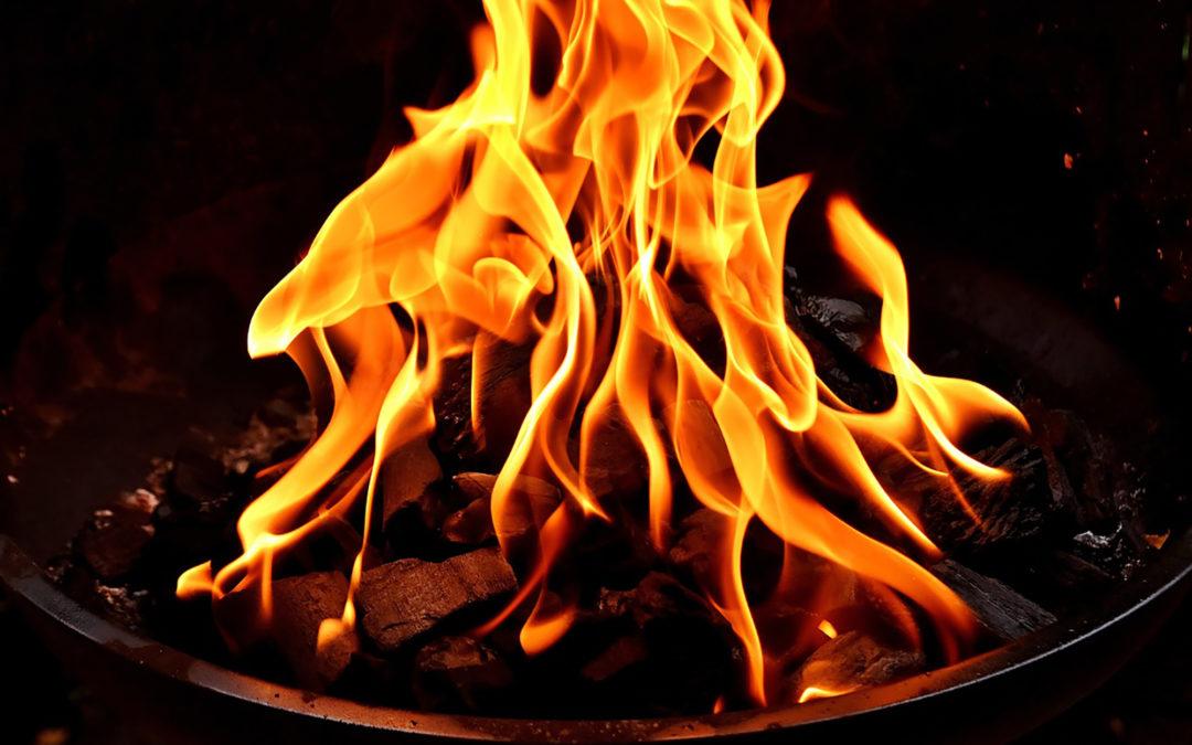 Feuer und Flamme?
